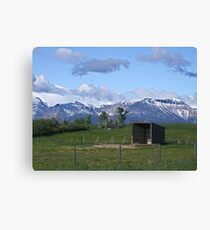 The Shelter Canvas Print