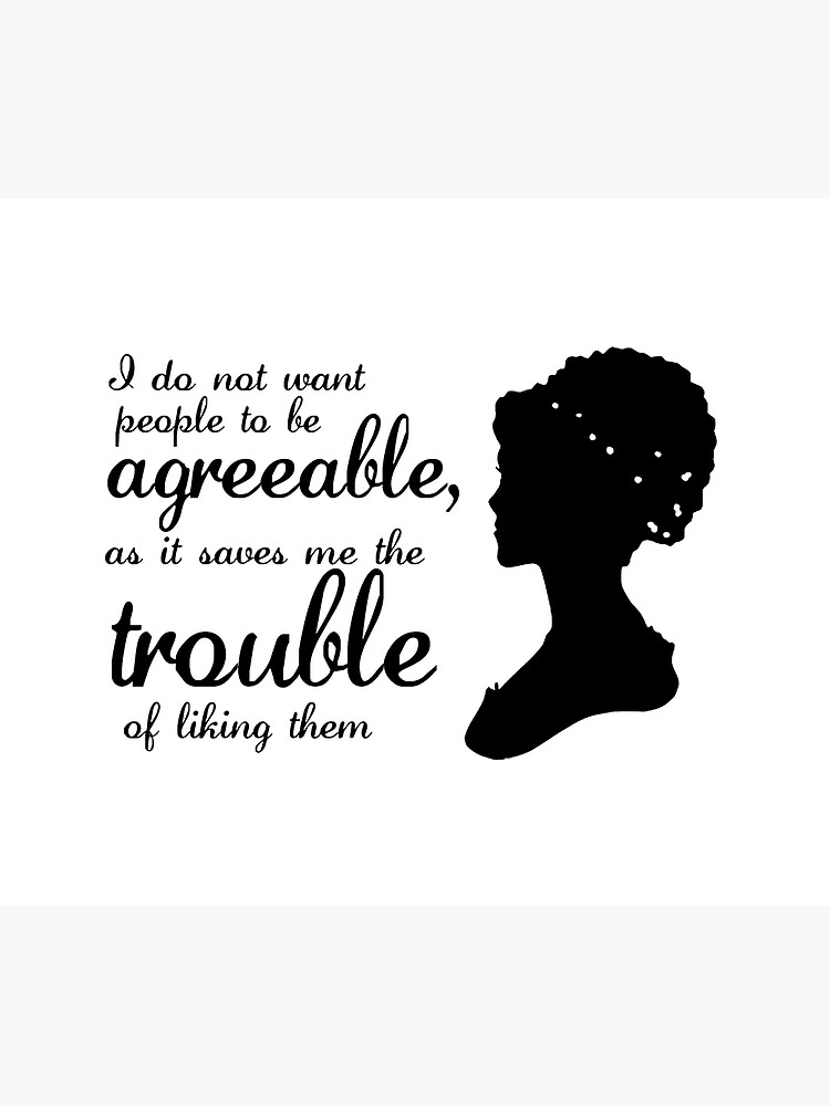 Jane Austen-inspired Quote by paperbouquet