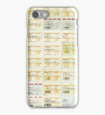 Ticket Evolution (2011 - 2015) iPhone Case/Skin