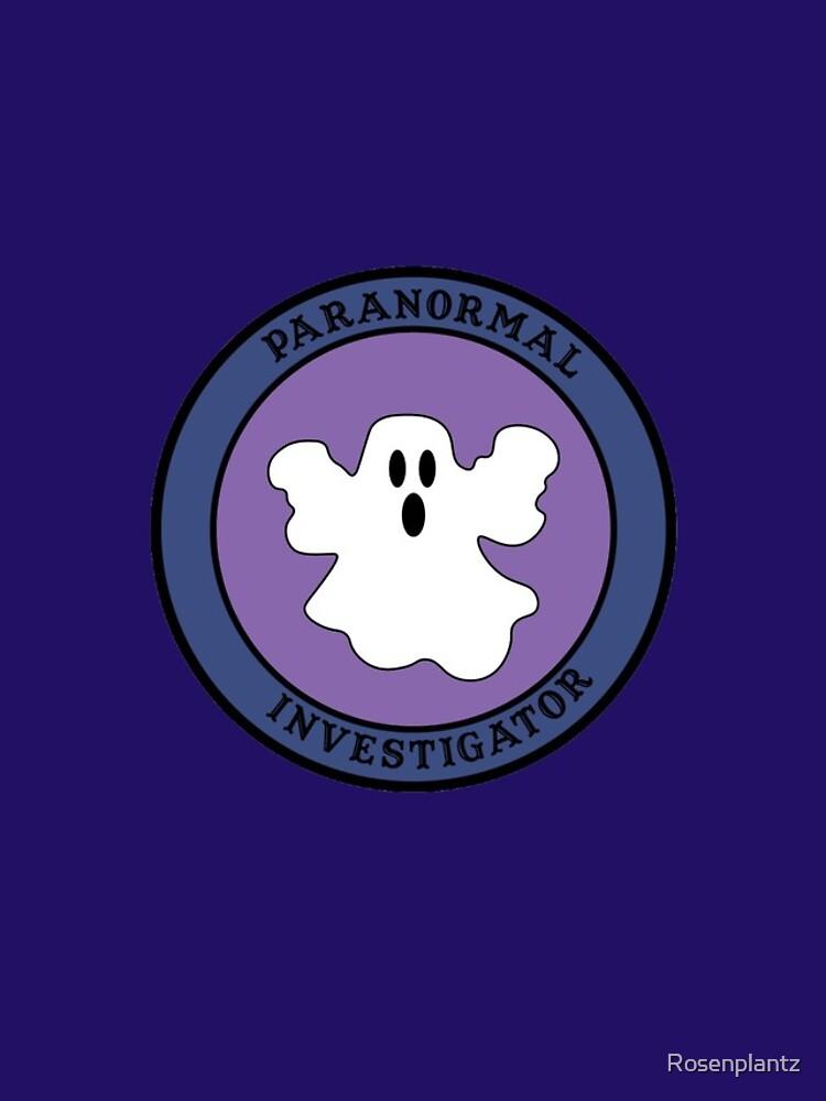 Paranormal Investigator by Rosenplantz