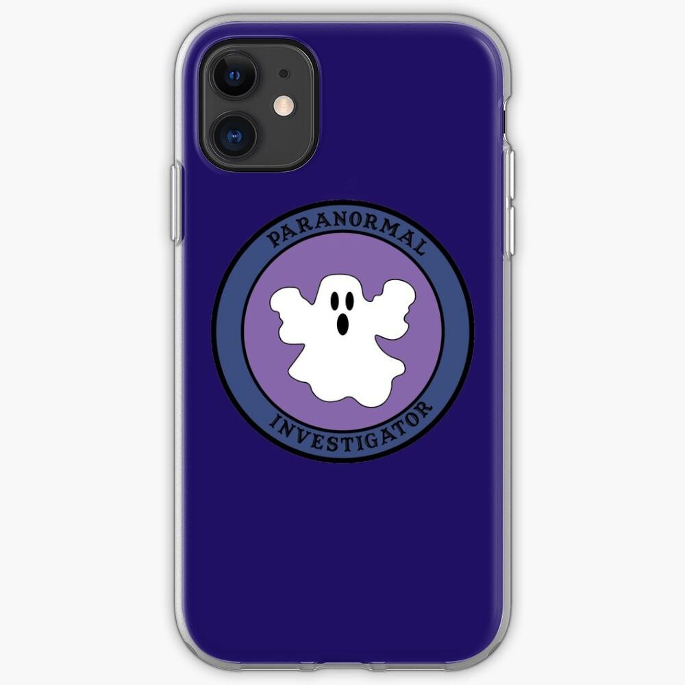Paranormal Investigator iPhone Case & Cover
