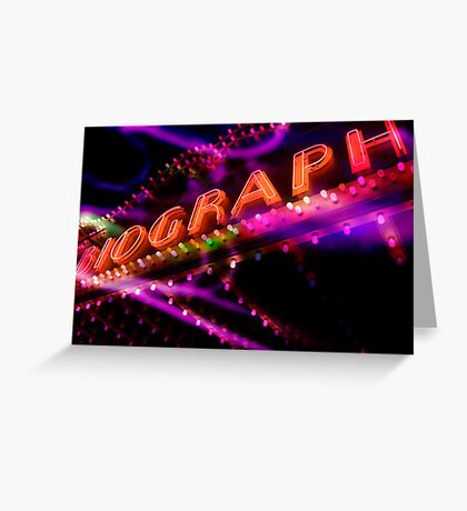 biograph theater, chicago Greeting Card