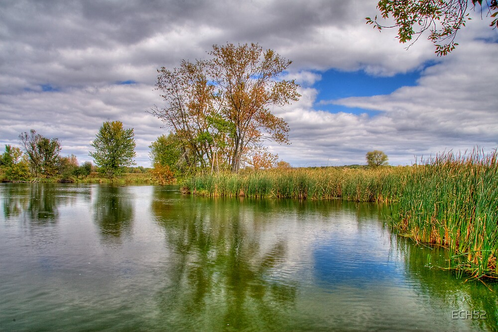 Reflection on a Fall Afternoon by ECH52