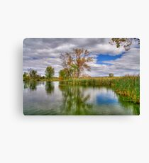 Reflection on a Fall Afternoon Canvas Print