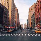 New York City - Summer Evening by Vivienne Gucwa