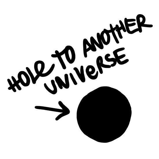 Hole To Another Universe Graffiti (Life is Strange)-- Tilted by artisticaviary