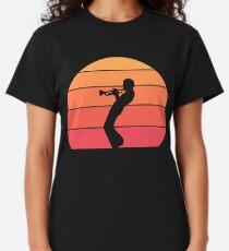 Miles Davis - Trumpet Sunset Classic T-Shirt