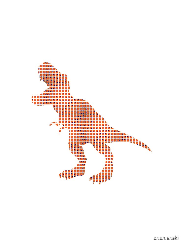 #Dinosaur, #animal #figure, line #art, tail, znamenski, point, symbol, illustration by znamenski