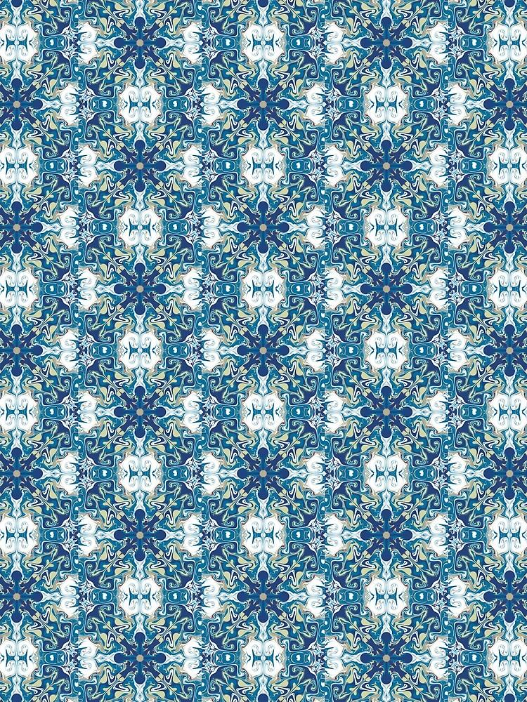 Blue tile by roseglasses