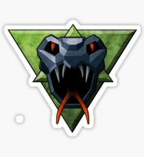 Clan steel viper Glossy Sticker
