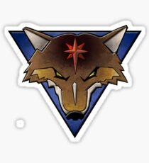 clan coyote Glossy Sticker