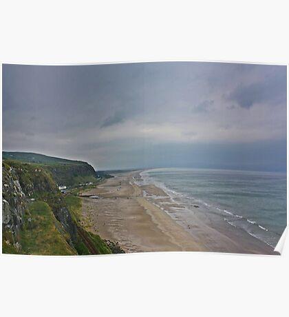 Coast View Northern Ireland Poster