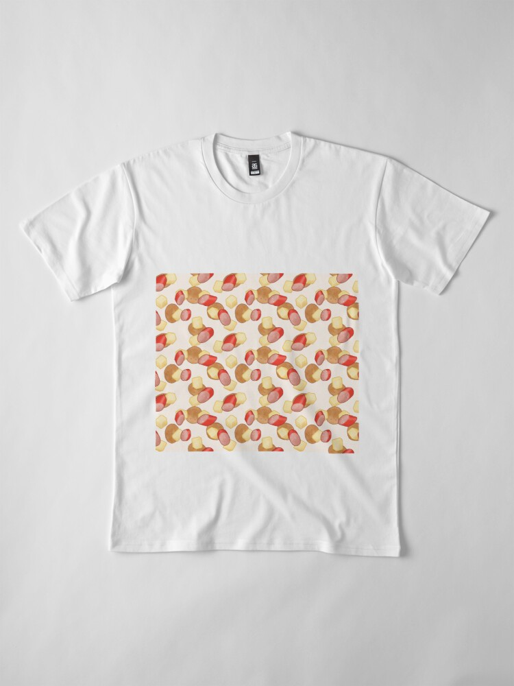 Alternative Ansicht von Käse, Kabana und Cracker, Aussie Perfection in Cream Premium T-Shirt