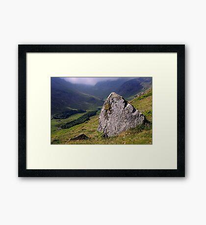 Grisedale, The Lake District Framed Print