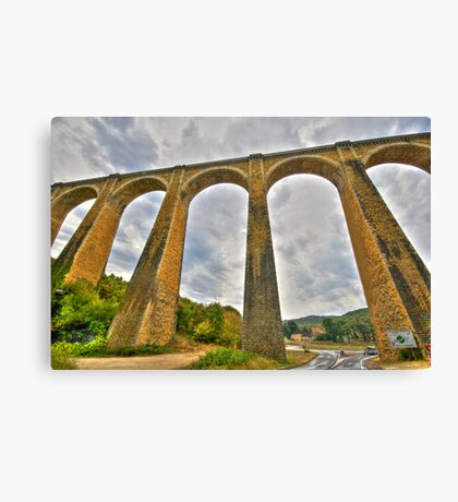 Viaduct Carcas France  Canvas Print