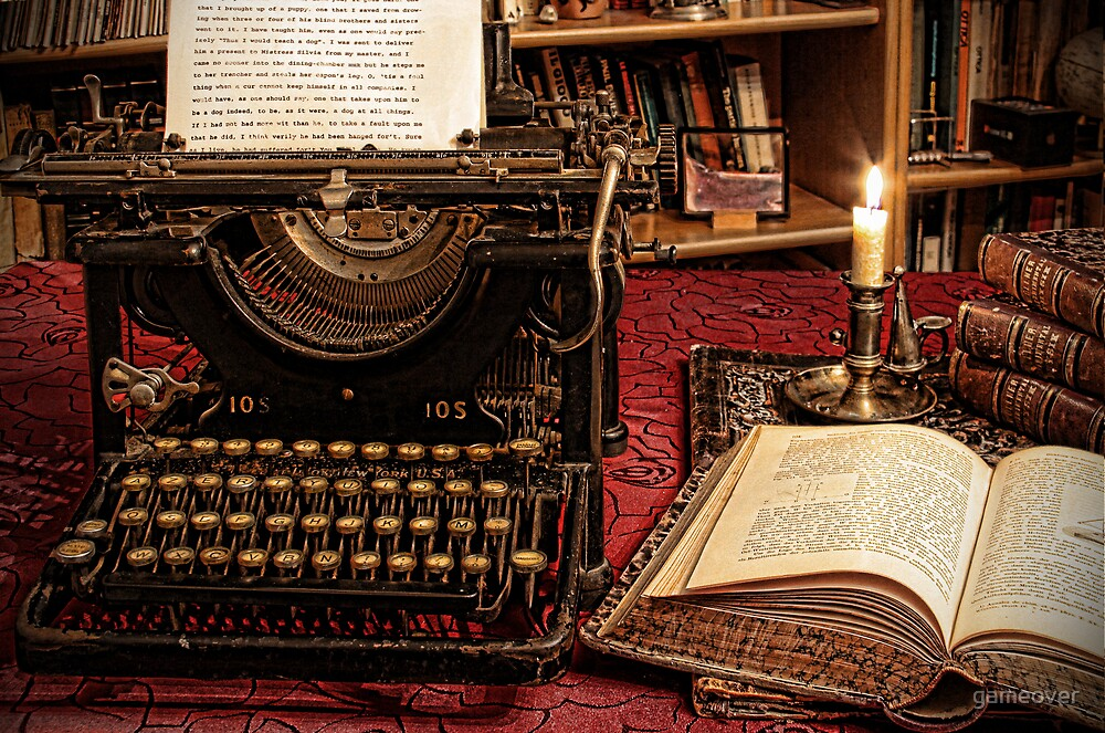 the old typewriter by gameover