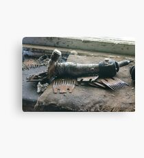 Old Hand Piece Canvas Print