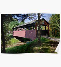 Buckhorn Covered Bridge Poster