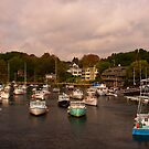 New England Harbor by Justin Baer