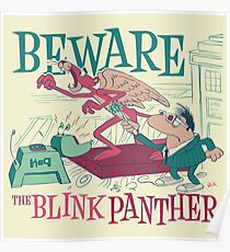 The Blink Panther Poster
