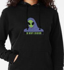Area 51 Meme Lightweight Hoodie