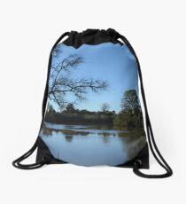 Serene Waters Drawstring Bag
