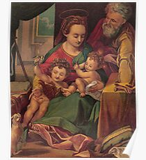 The Holy Family. Poster