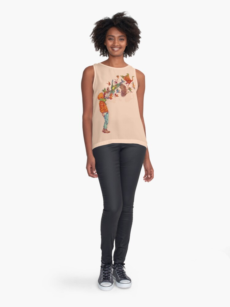 Alternate view of ENVOL Sleeveless Top
