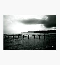Looking Across Sandsend Wyke. Photographic Print