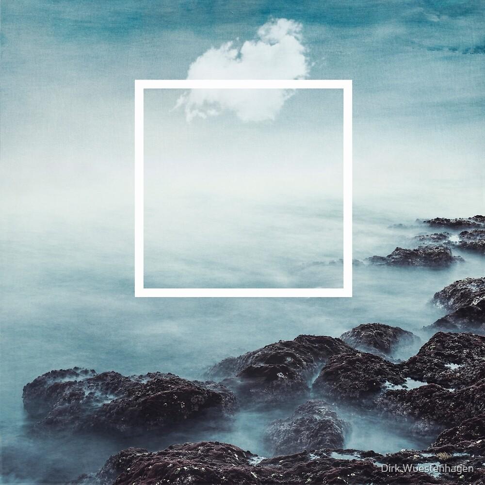 merging sky and sea by Dirk Wuestenhagen