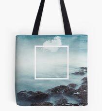 merging sky and sea Tote Bag