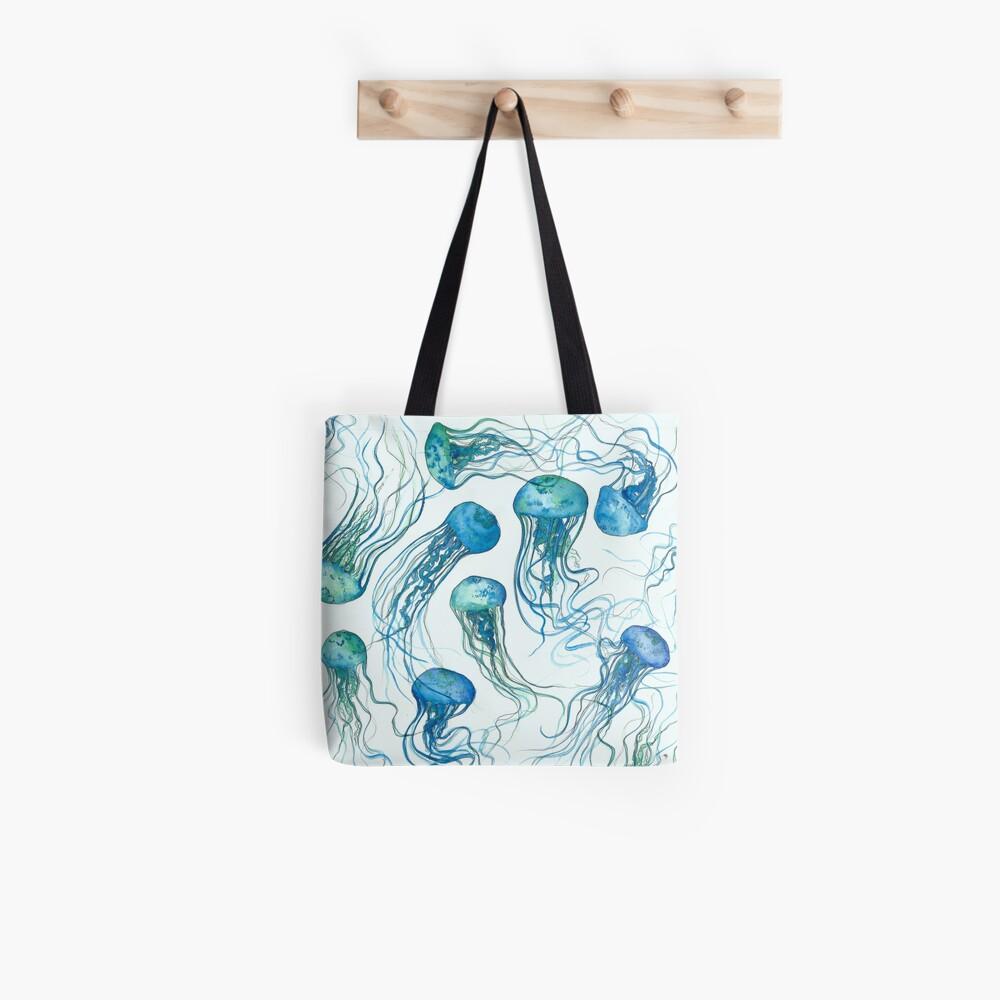Océano medusas Bolsa de tela