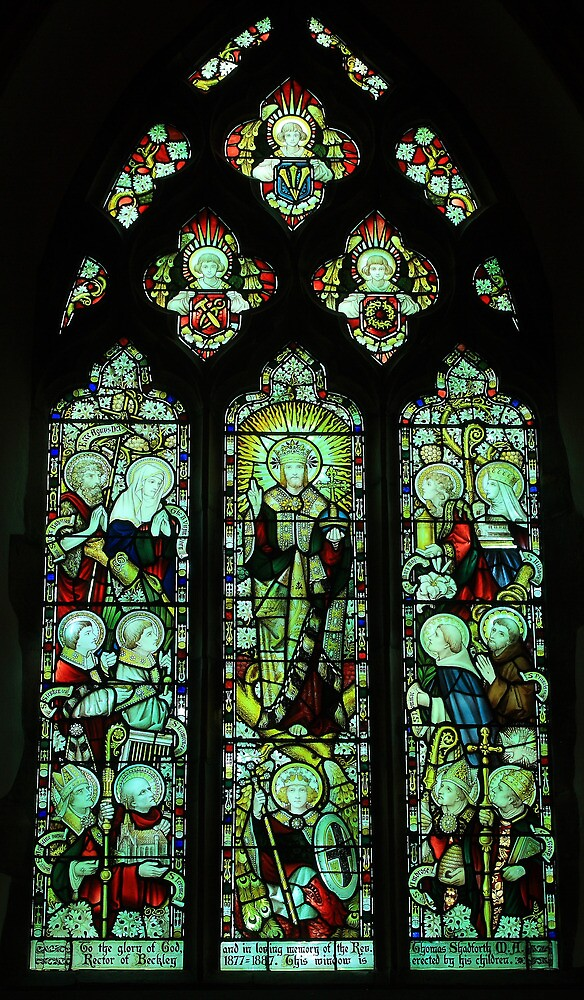 All Saints East Window, Beckley by Dave Godden