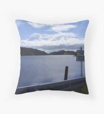 donegal lake Throw Pillow