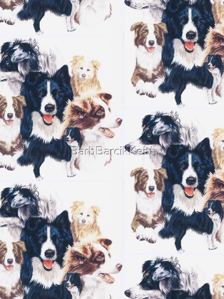 Border Collie Montage by BarbBarcikKeith
