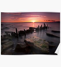 Lake Michigan Sunrise Poster