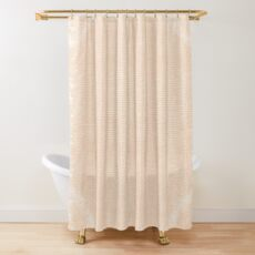 Distressed Parchment Shower Curtain