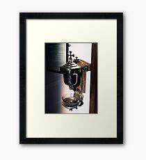 Holy Water Font Framed Print