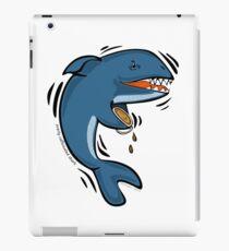Overly Caffeinated Shark iPad Case/Skin