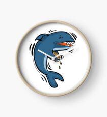 Overly Caffeinated Shark Clock