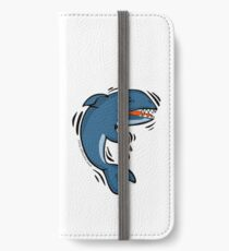 Overly Caffeinated Shark iPhone Wallet/Case/Skin