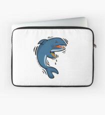 Overly Caffeinated Shark Laptop Sleeve