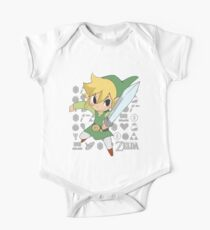 Legend of Zelda - Link One Piece - Short Sleeve
