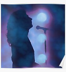 Robert Plant on Stage Poster