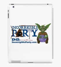 Incorrigible Party logo and Thuft iPad Case/Skin