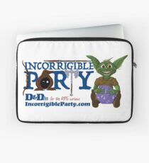 Incorrigible Party logo and Thuft Laptop Sleeve
