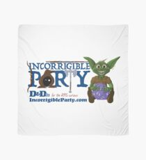 Incorrigible Party logo and Thuft Scarf