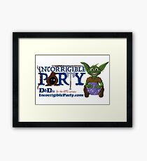 Incorrigible Party logo and Thuft Framed Print