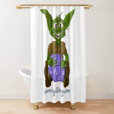 TeddyThuft Shower Curtain