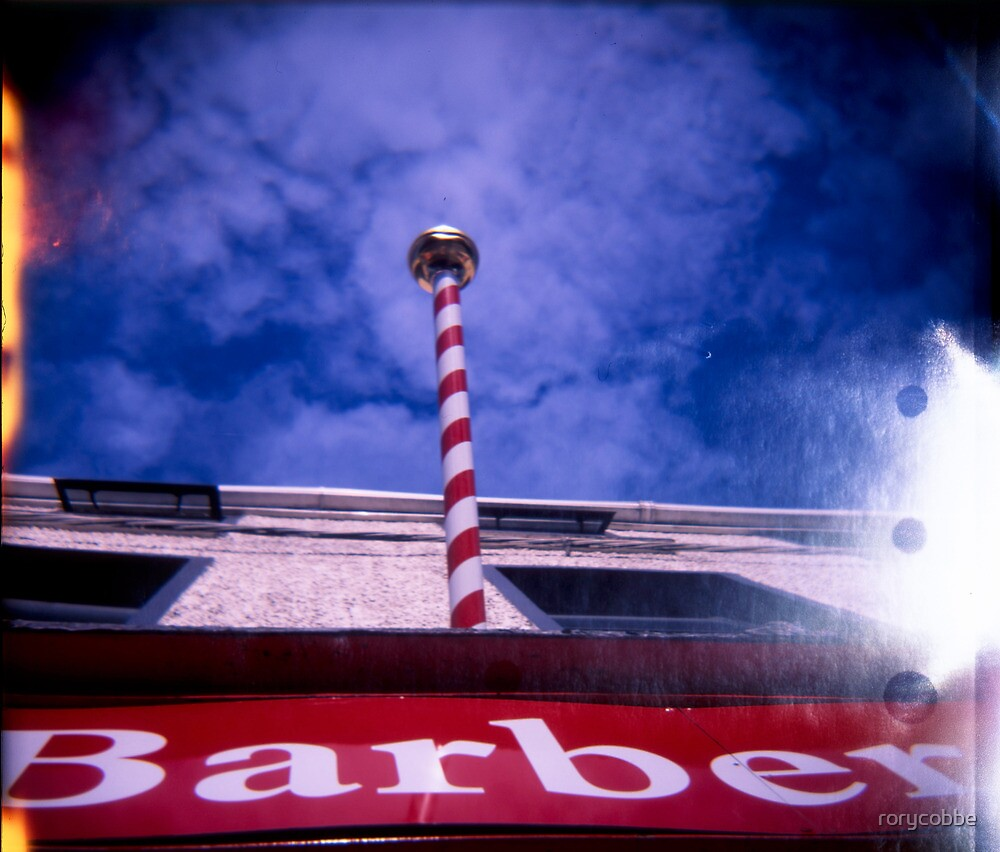 The Great Barber Pole In The Sky by rorycobbe